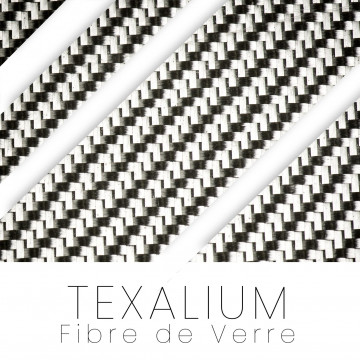 Texalium - Fibre de verre et d'aluminium
