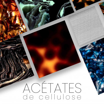 Cellulose acetate - for knives handle