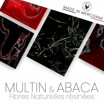 Multin - fibres de lin résiné