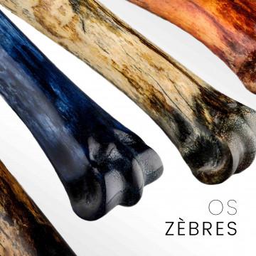 Osso di zebra: stinco stabilizzato per posate