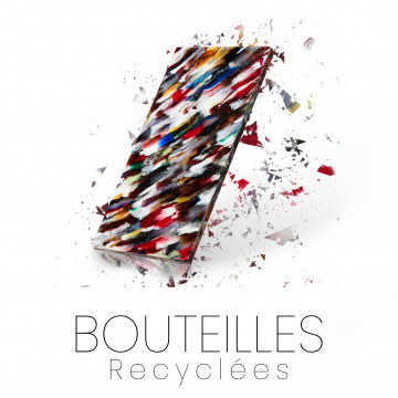 Recycled bottle - Material for cutlery