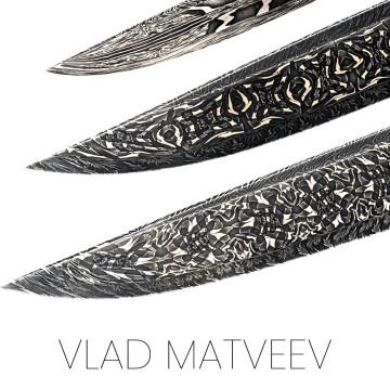 Vlad Matveev blade: Russian blacksmith
