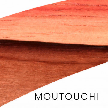 Moutouchi - niques pieces : hande and block for knife making