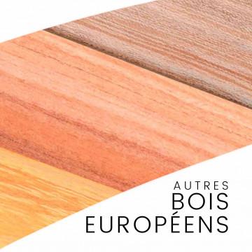 Bois européens - pièces uniques : manches et blocs pour couteaux