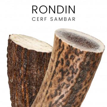Rondins, merrains de sambar - pour couteaux