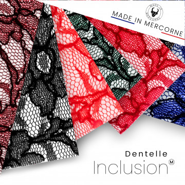 Lace inclusions - French manufacturing