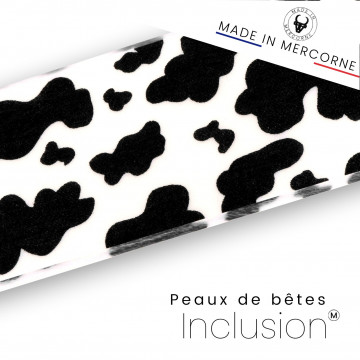 Animal skin inclusions - French manufacturing