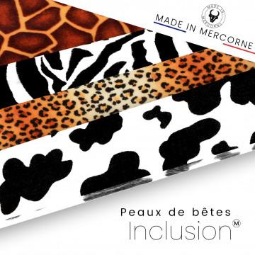 Inclusioni di pelle di animale - produzione francese