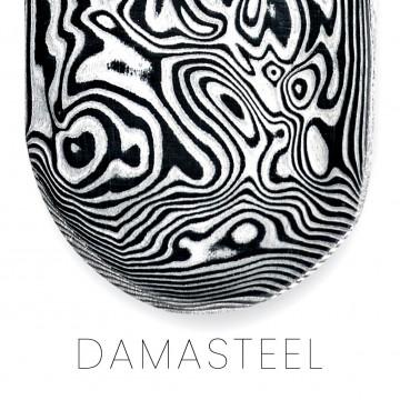 DAMASTEEL® bar, damask with nordic inspiration