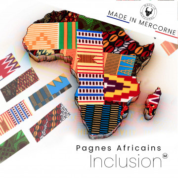 Inclusions African loincloths - Special table knives