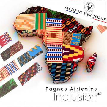 Inclusions Pagnes Africain - Spécial couteaux de tables