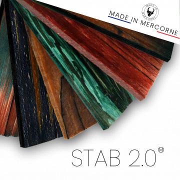 Stabilized wood 2.0: odorless stabilization