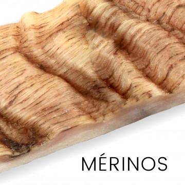 Merino wool - full horns and handles for knives