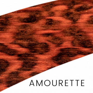 Amourette - prestigious wood for cutlery