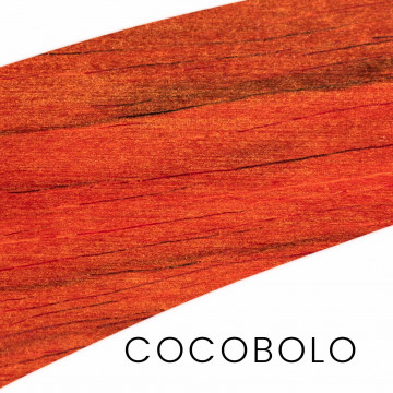 Cocobolo - uniques pieces : hande and block for knife making