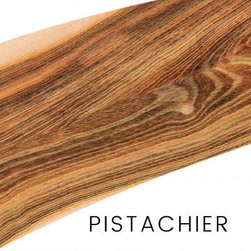 Pistachier : manches et blocs pour couteaux