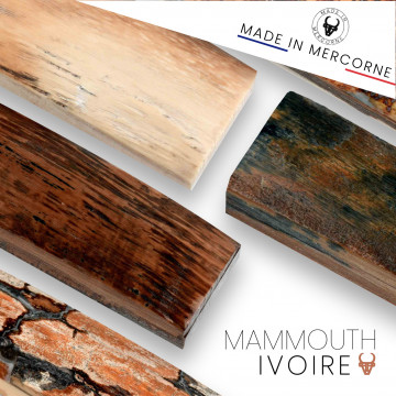 Mammoth ivory: exceptional pieces for knives