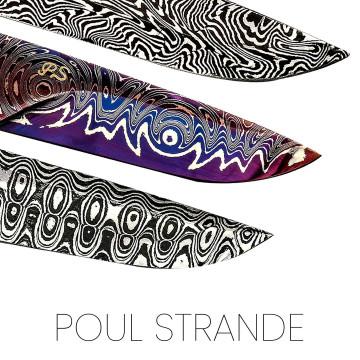 Lames Poul Strande, maitre-forgeron danois