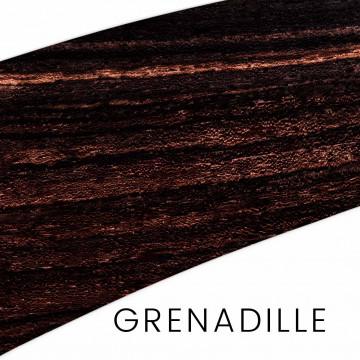 Grenadille ou ébène du mozambique : manches et blocs pour couteaux