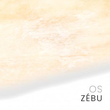 Ossa di zebù - pezzi unici per coltelli