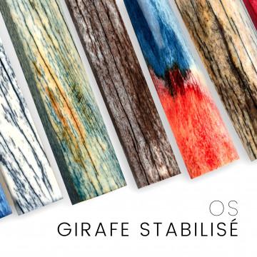 Os de girafe stabilises